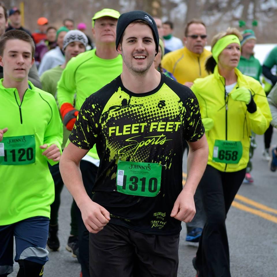 marathon running resume